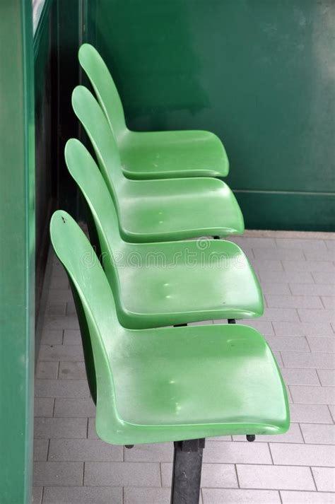 waiting bench waiting area chairs stock image image of bench seating