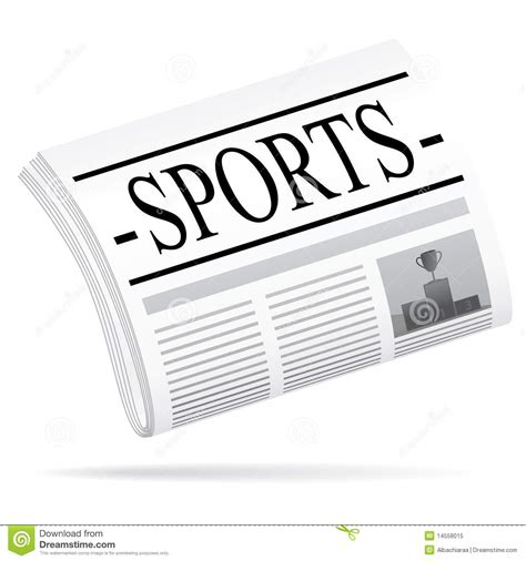 Royalty Free Newspaper Pictures Images And Stock Photos Istock Sports News Stock Vector Image Of Illustration Football 14558015