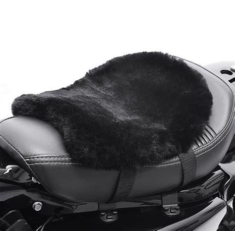 cuscino moto moto cuscino per sella pelle di pecora tourtecs 32 x 27 cm