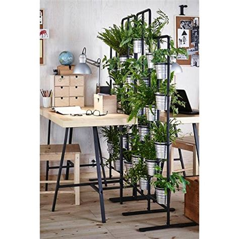 tall metal plant planter stand  tiers display plants