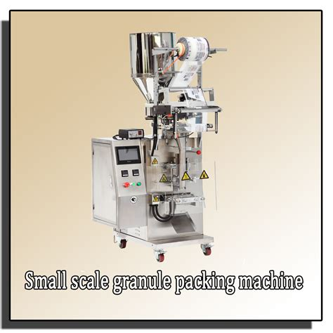 Small Scale Paper Bag Machine - small scale granule pouch packing machine