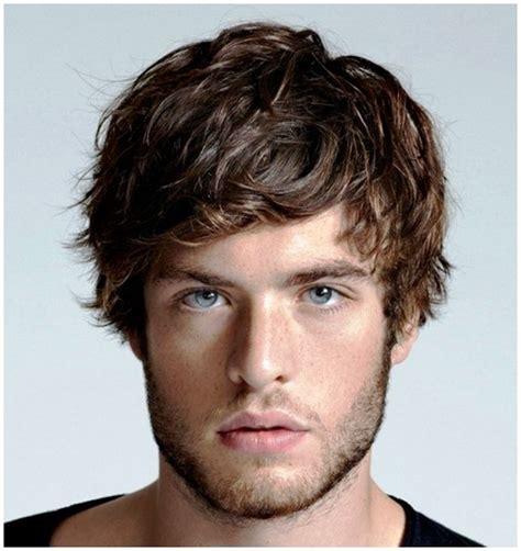 mens medium hairstyles with bangs medium haircuts for guys with bangs common medium