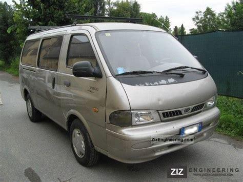 L Kia Pregio 1 kia pregio 2 7 tci 6 posti omologato autocarro fatt 2000 estate minibus up to 9 seats truck