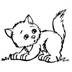 15 Lovely Kitten Coloring Pages For Your Little Ones sketch template