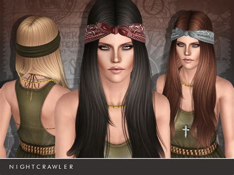 the sims 4 free hair beauty downloads hair beauty nightcrawler sims nightcrawler af hair24