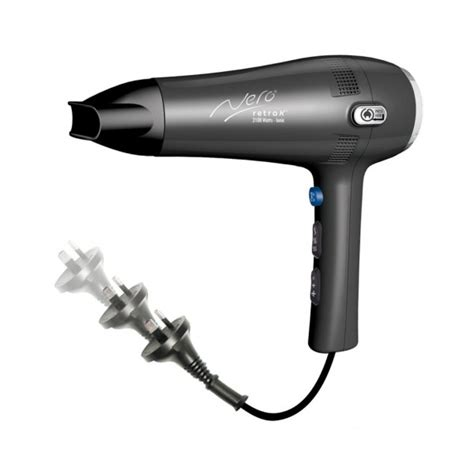 Hair Dryer Retractable Cord nero retrak cord hair dryer 2100w starline