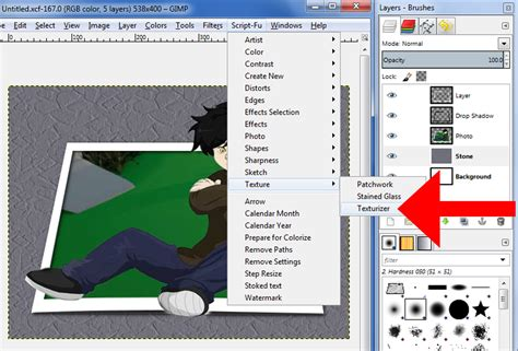 how to make something pop out of a card how to make an object pop out in gimp 13 steps with