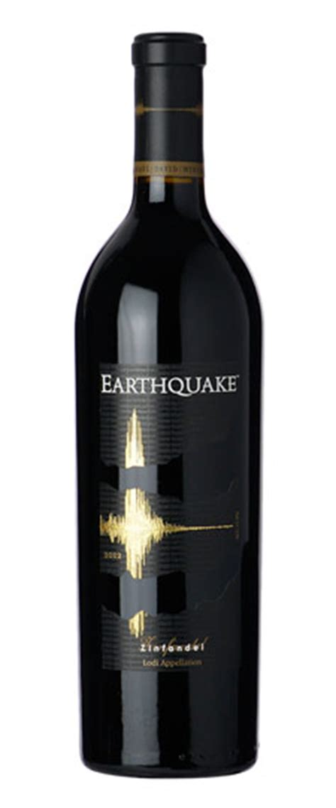 earthquake zin earthquake zin
