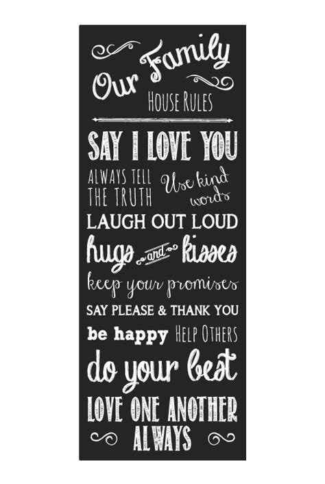 house rules design shop family house rules simple sugar designsimple sugar design
