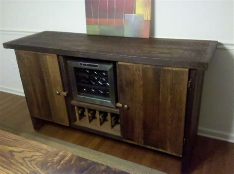 buffet table with built in wine cooler 1000 images about console tables sideboards made from