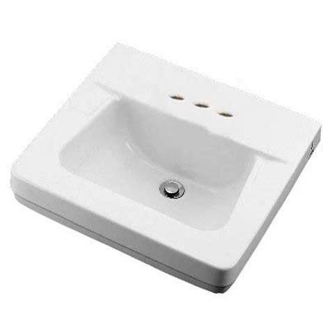 crane wall mount sink shop crane plumbing norwich white wall mount rectangular