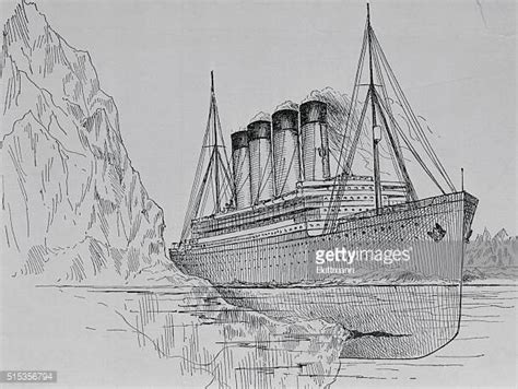 titanic boat sketch titanic drawings of the ship stock photos and pictures