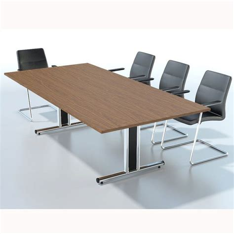 flexible meeting tables fusion executive furniture rectangular boardroom table with mfc finish wooden