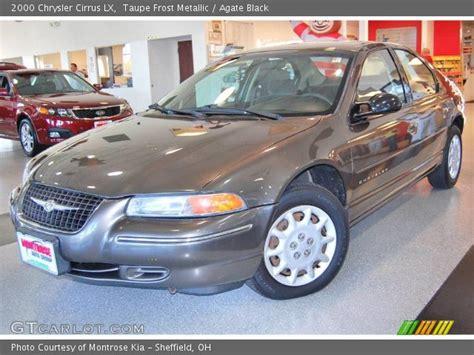 2000 Chrysler Cirrus Lx by Taupe Metallic 2000 Chrysler Cirrus Lx Agate