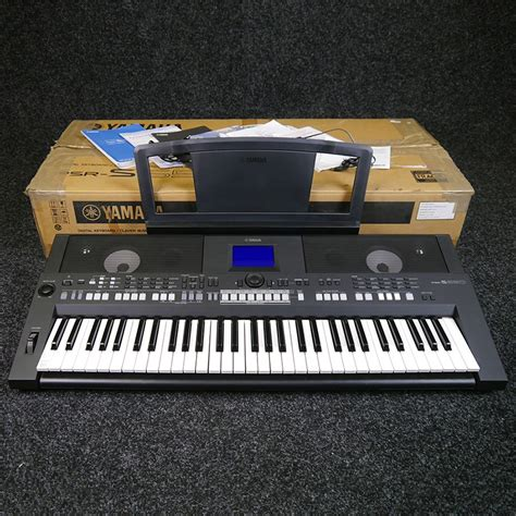 yamaha psr s650 digital workstation keyboard w box 2nd rich tone