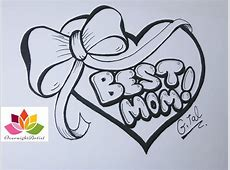 Heart With A Ribbon Drawing at GetDrawings.com | Free for ... Easy Drawings Of Hearts With Ribbons