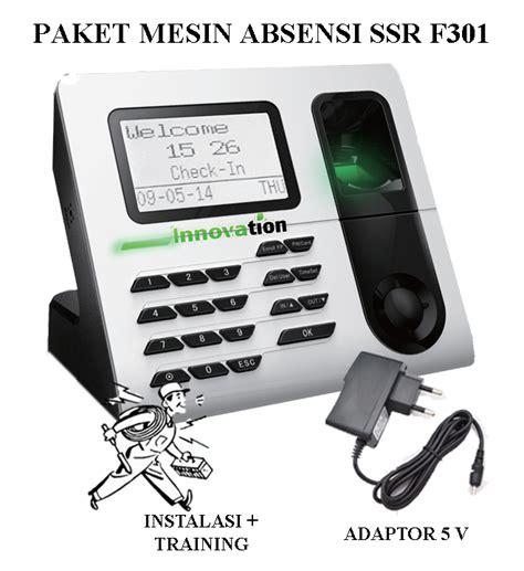 Promo Jual Adaptor Fingerprint Finger Print Mesin Absen Solution paket mesin absensi portable biofinger f301 battery
