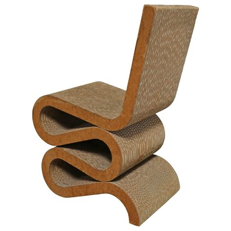 early quot wiggle quot chair by frank gehry for sale at 1stdibs