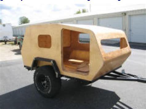 offroad trailer cool homemade offroad teardrop cer tear drop