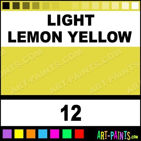 light lemon yellow studio acrylic paints 12 light