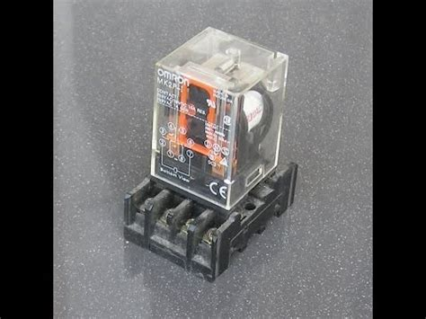 Relay Omron 220 Vac 8 Pin Mk2p I how to operate relay omron mk2p 220vac