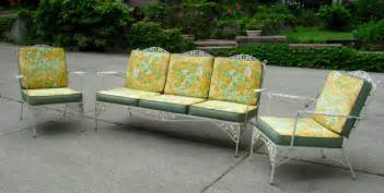 woodard patio furniture items similar to vintage woodard iron patio set sofa pair
