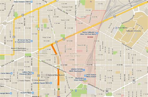 washington dc ne map dc s best neighborhoods