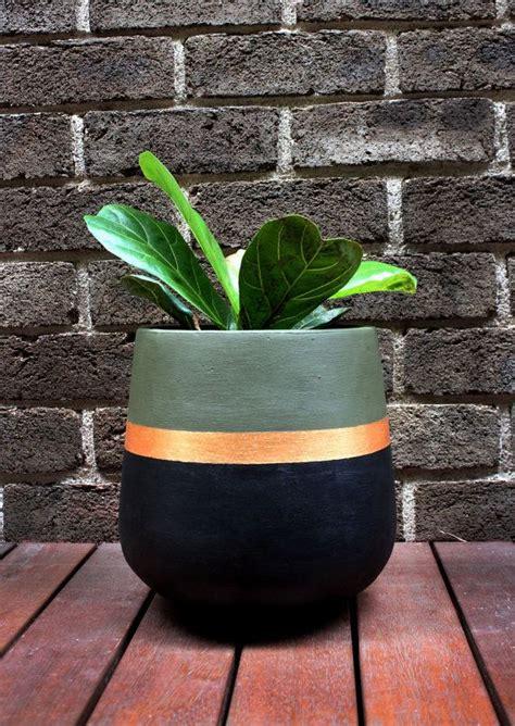 Plant Pots And Planters 25 Unique Painted Plant Pots Ideas On Paint
