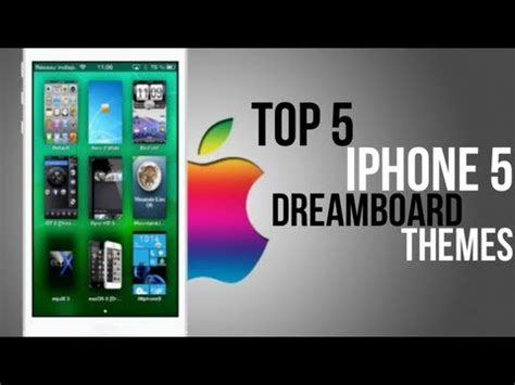 best dreamboard themes for iphone 6 plus dreamboard iphone 5 themes youtube
