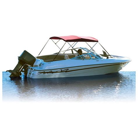 bimini top by boat attwood 174 bimini 4 bow frame 298126 bimini tops at