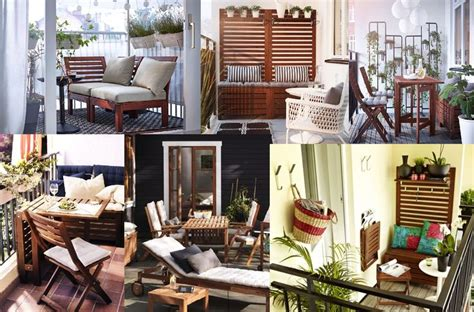 collage of ikea applaro patio deck furniture deck it out