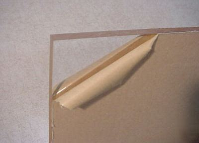 ".25"" acrylic sheet, plexiglass, 3.25"" x 47"" lot of 6 .25 Acrylic Sheets Wholesale"