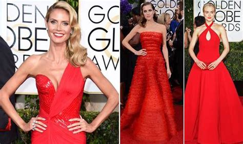 Golden Globes 2008 Carpet Fever by Golden Globes 2015 Heidi Klum Schilling Allison