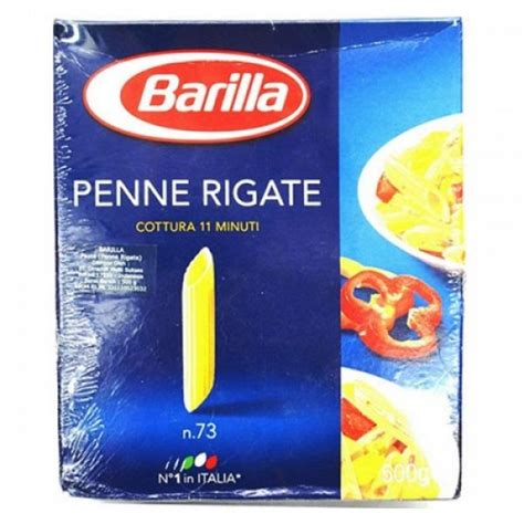 Barilla Penne Rigate 500gr barilla penne rigate pasta 500gr