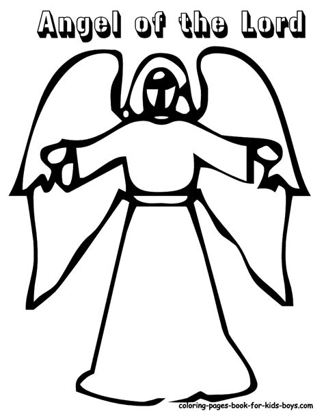 preschool coloring pages angels printable angel coloring pages coloring home