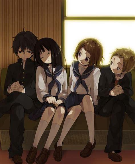 Anime Art Anime School Uniform Seifuku Sailor Anime Friends Boy And