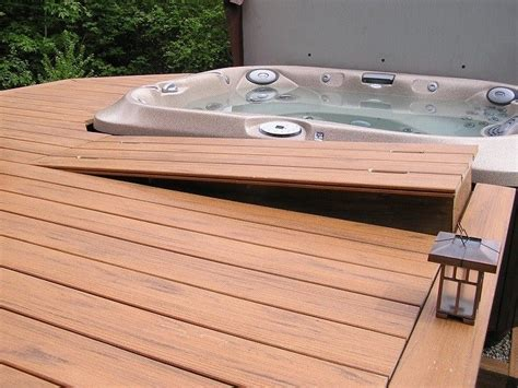 How To Build A Patio Bench The 25 Best Tub Deck Ideas On Pinterest Deck