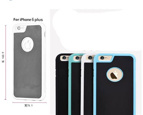 Anti Gravity Nano Suction Cover Adsorbed For Iphone 6plus anti gravity cell phone nano suction adsorption for iphone 7
