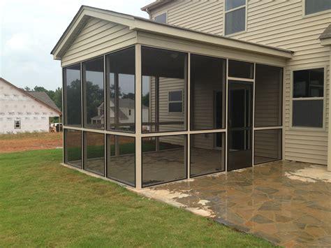 Eze Porch bronze screen eze porch addition the carolina carpenter