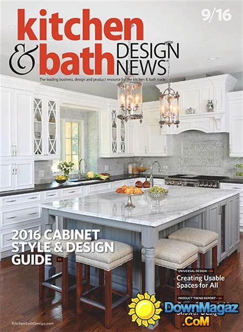 kitchen bath design news september