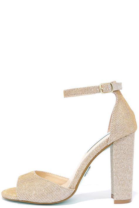 Wedges Emboss Glitter Flare Dress pretty gold heels glitter heels dress sandals 89 00