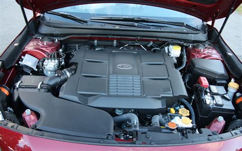 subaru six cylinder engine the 3 6l horizontally opposed six cylinder engine in the