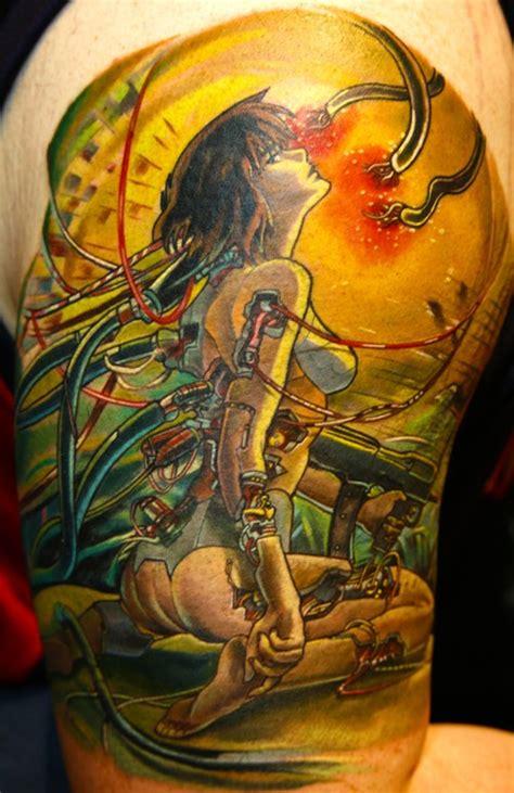 ghost in the shell tattoo ghost in the shell tattoos