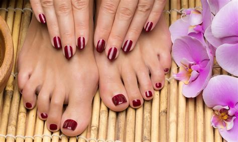 Manicure Pedicure Di Nail Plus pedicure plus up to 66 greater groupon