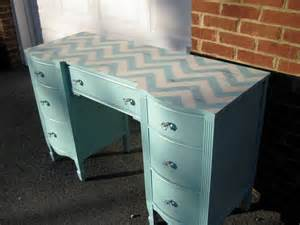 Chevron Desk Chair Eight Painted Desk Ideas Turquoise Vanities And Diy Desk