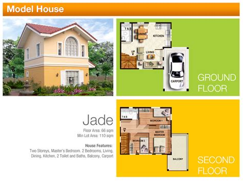 camella homes design with floor plan jewels series camella homes tarlac
