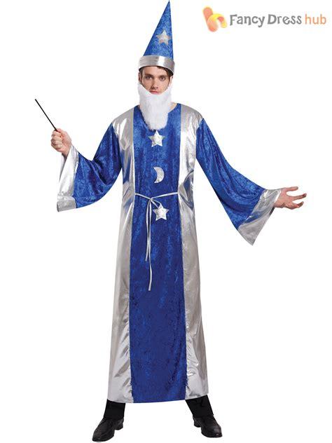 costume robe mens magician robe hat wizard costume adults magic