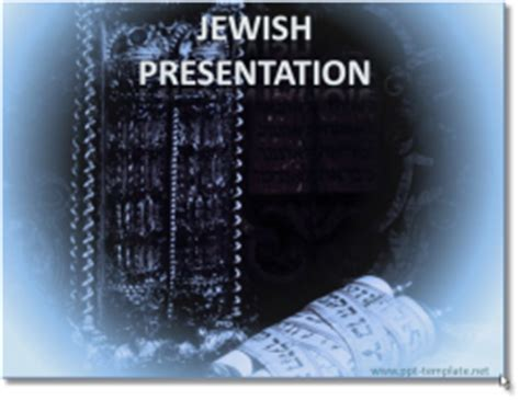 powerpoint themes judaism jew powerpoint templates
