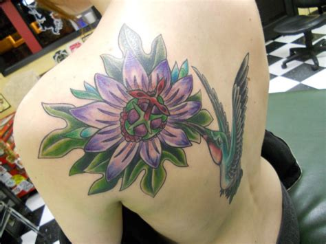 hummingbird and flower tattoo hummingbird tattoos designs ideas and meaning tattoos