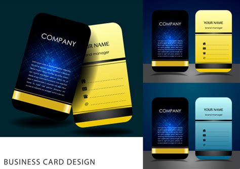 Free Graphic Design Templates For Business Cards by Business Card Ai Template Free Vector 67 230